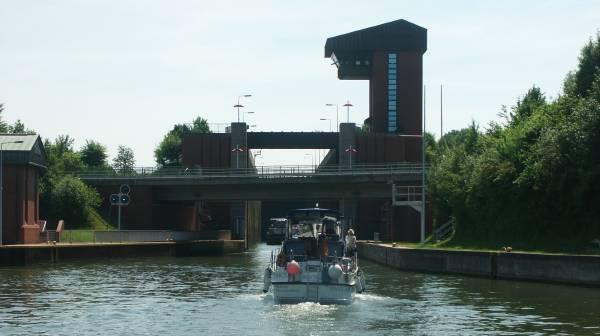 schiff kanal münster